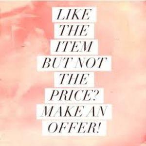 Read Description. Never be afraid,make an offer.